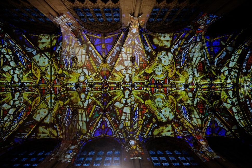 Stained glass was often created with the help of nanoscience before it was known as such.