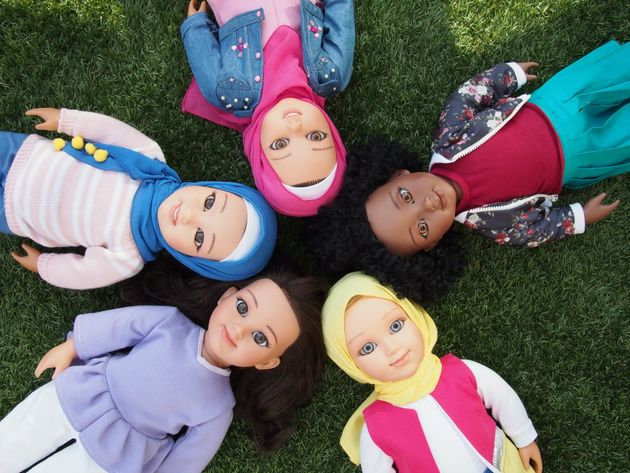 The Salam Sisters are five dolls designed to make young Muslim girls feel