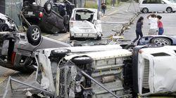 태풍 '제비' 일본 강타, 9명이 숨지고 300여명이