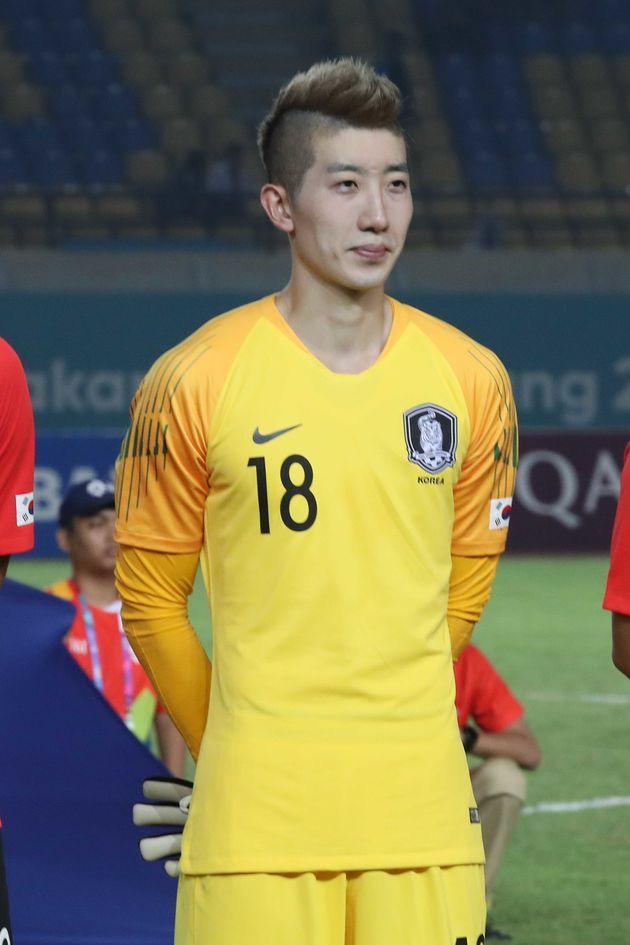 조현우가 무릎 부상으로 대표팀에서