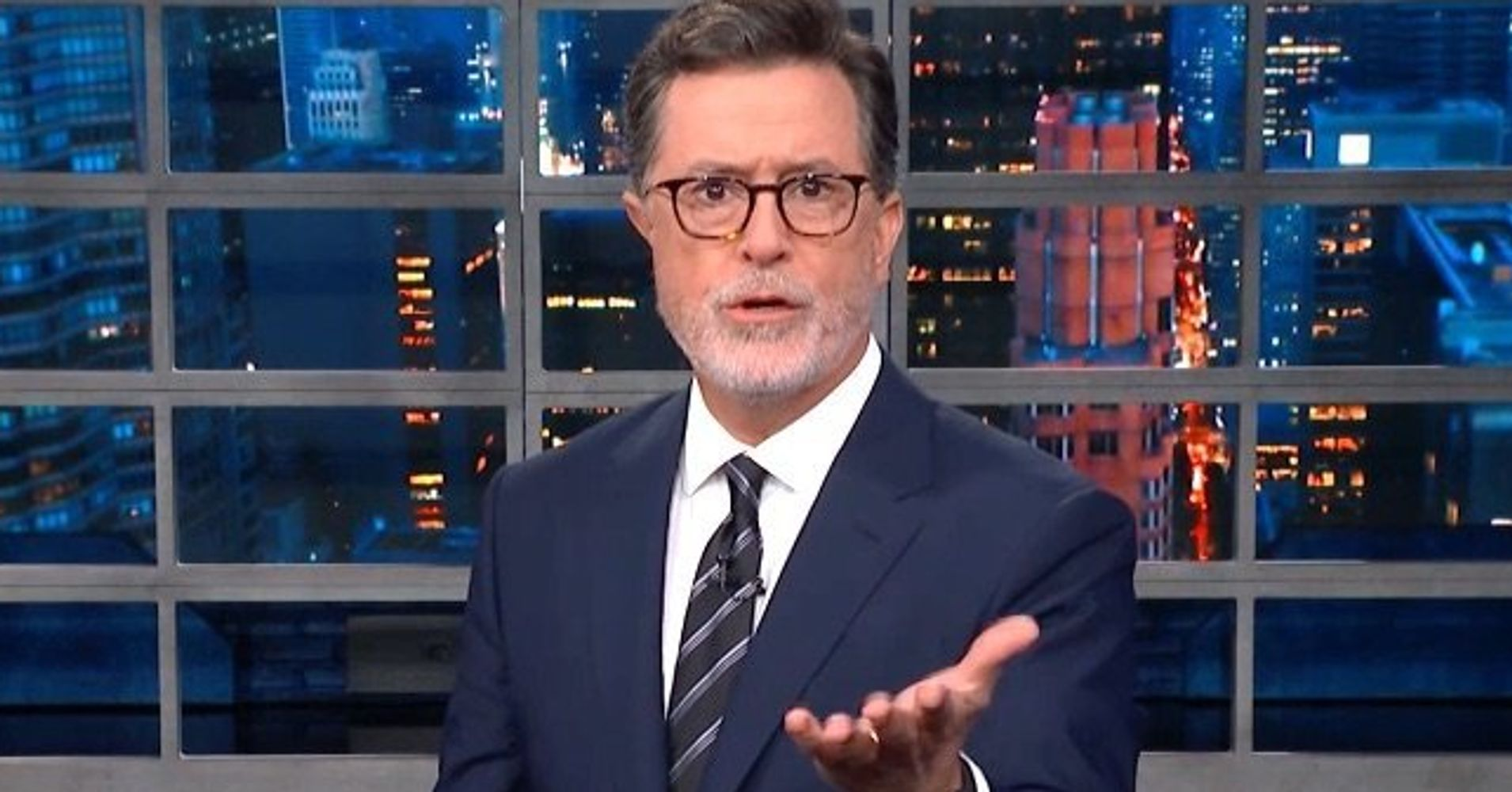 Stephen Colbert Is Back With An Urgent Warning For Donald Trump's Staffers