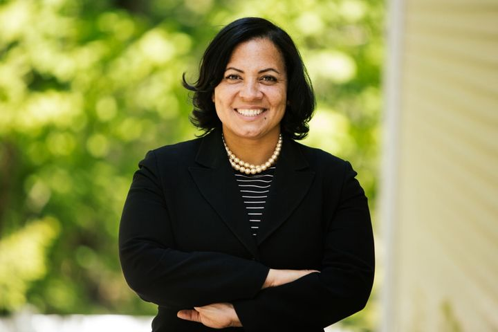 Rachael Rollins won her Democratic primary in Massachusetts on Tuesday. She'll face an independent candidate in November.
