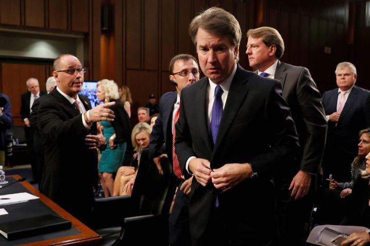 Supreme Court nominee Brett Kavanaugh has been criticized for turning his back on Fred Guttenberg.