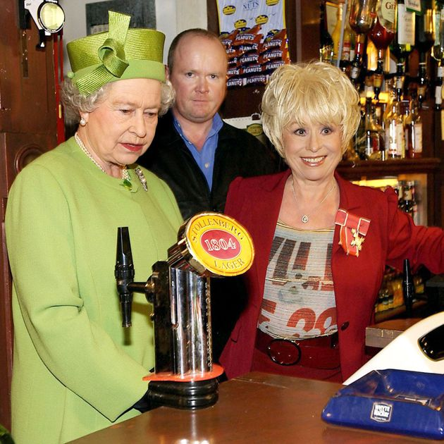 Barbara played Peggy Sue on Eastenders for 22