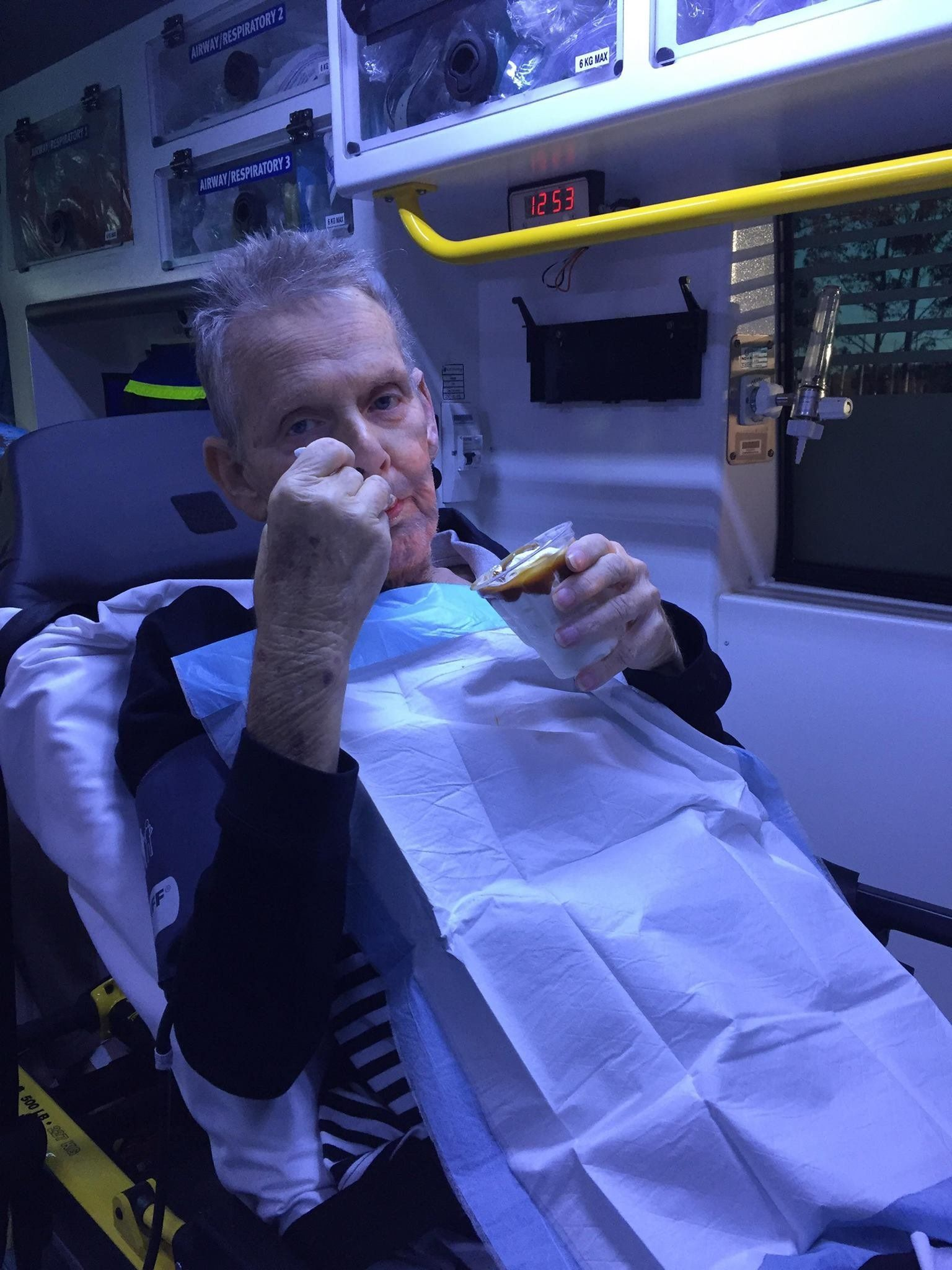 Daughter Thanks Paramedics For Giving Dad His Dying Wish – A Caramel Sundae