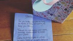 Mum Brought To Tears By Childminder Who Left Comforting Note Before She Went Back To