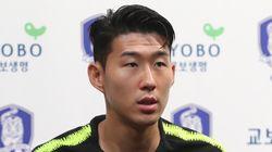대표팀에 합류한 손흥민이 첫 훈련 뒤 벤투 감독에 대해 내린