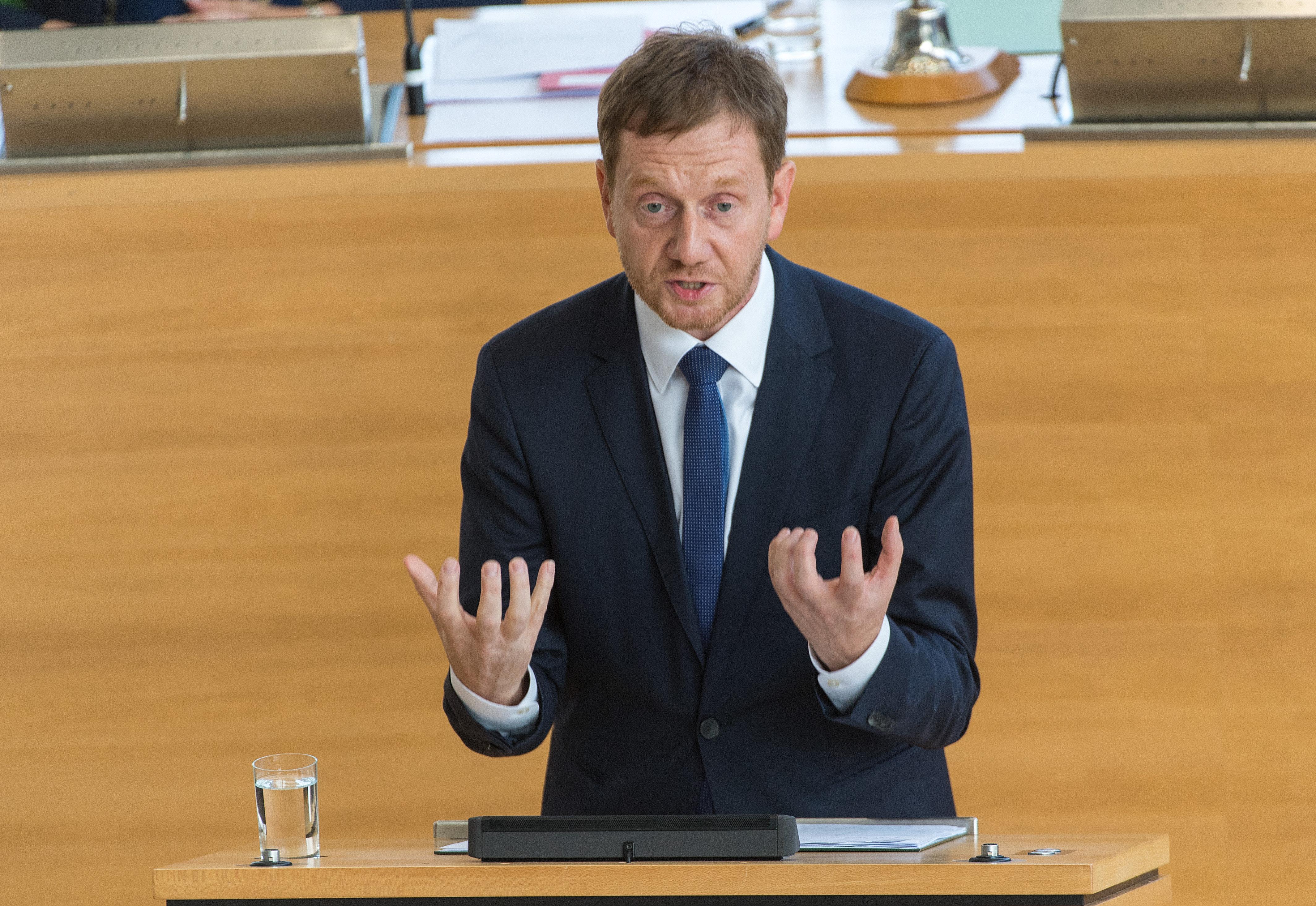 Sachsens Ministerpräsident kritisiert nach Chemnitz die Presse – und attackiert die