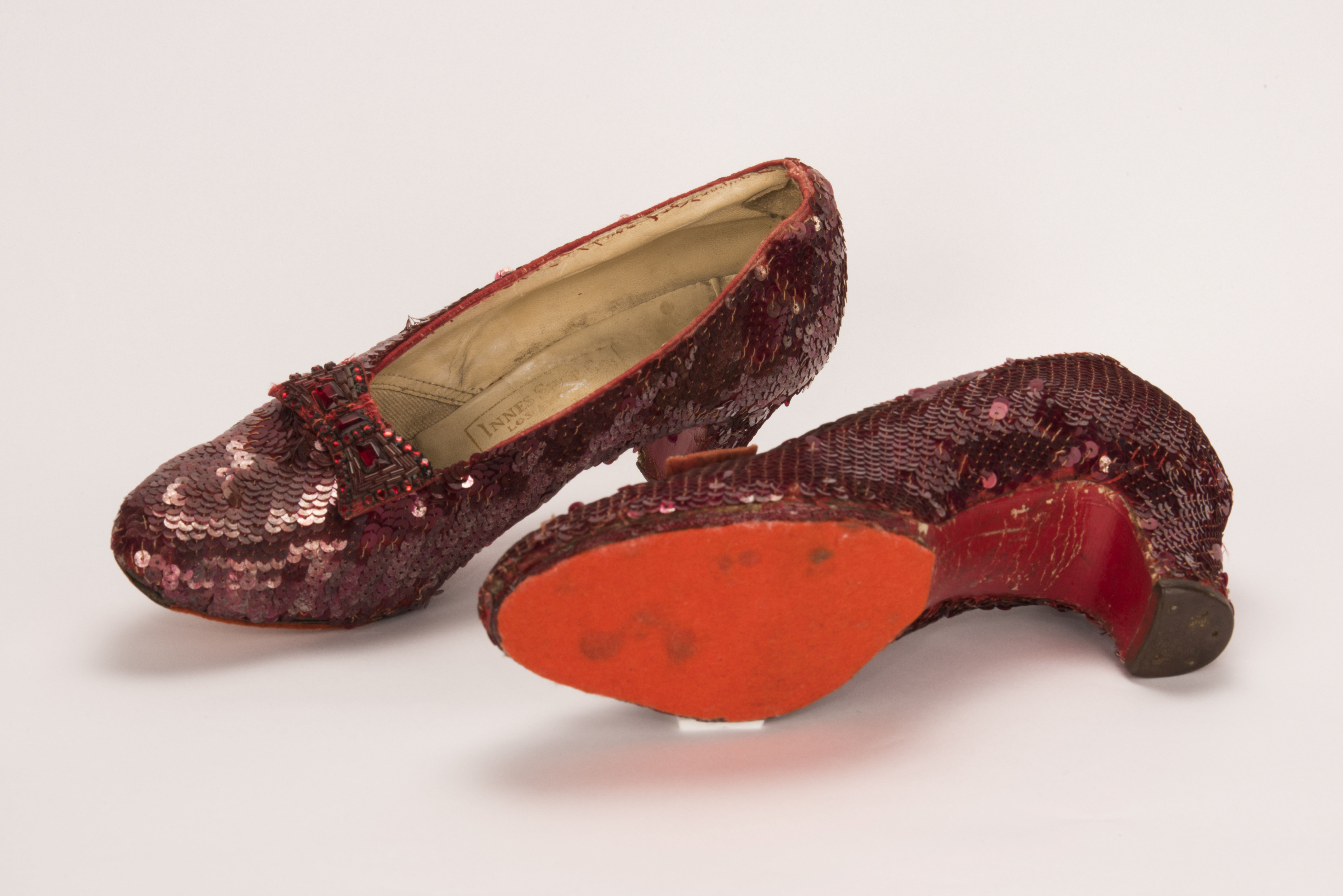 Dorothy's iconic shoes are back in their owner's