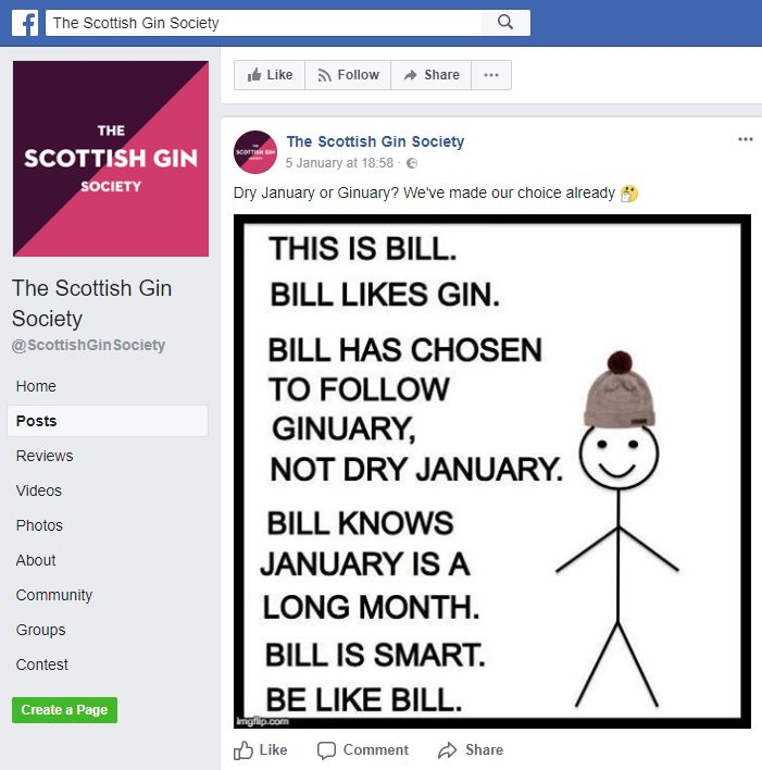 Scottish Gin Society Criticised By Ad Watchdog Over Memes