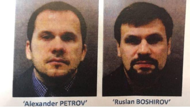 Fall Skripal - Britische Polizei sucht per Haftbefehl nach zwei Russen