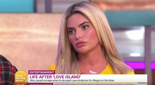 Megan listened as Piers reeled off her past cosmetic procedures