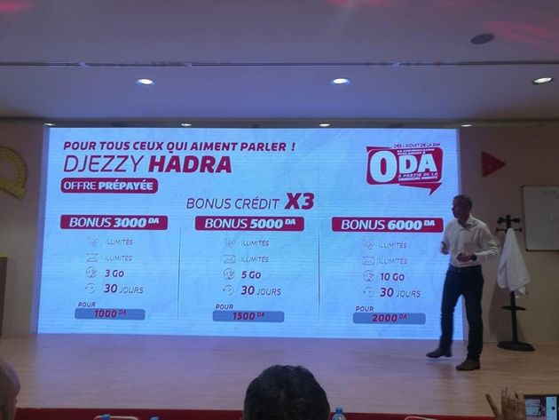Djezzy lance ses offres, Hadra et Hayla Bezzaf