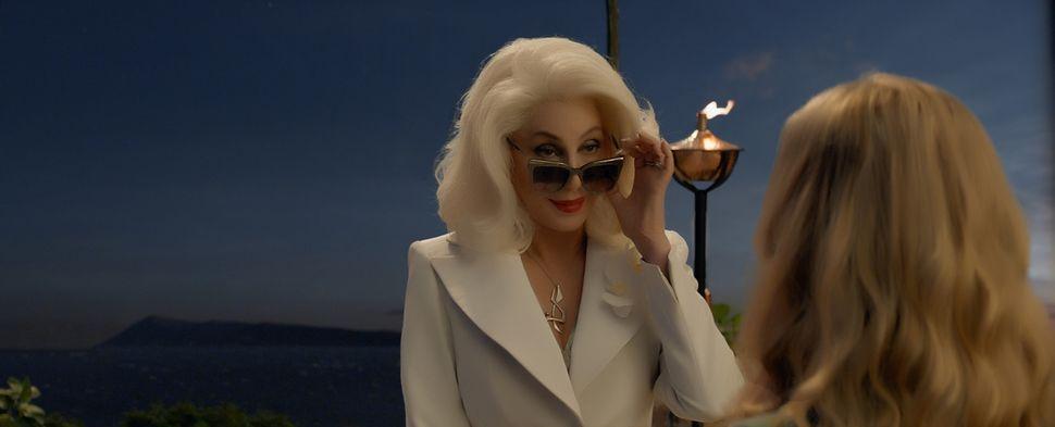 """Cher in """"Mamma Mia! Here We Go Again."""""""