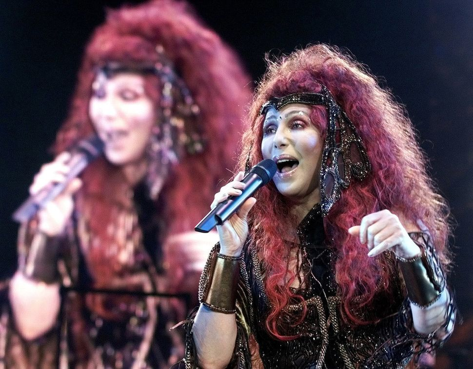 Cher on her Do You Believe? tour in October 1999.