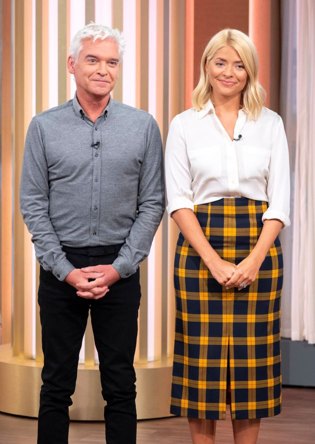 Phil and Holly are spending their time off from This Morning