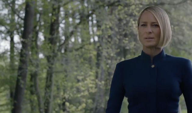 Robin Wright as Claire Underwood in the new series of 'House Of Cards'