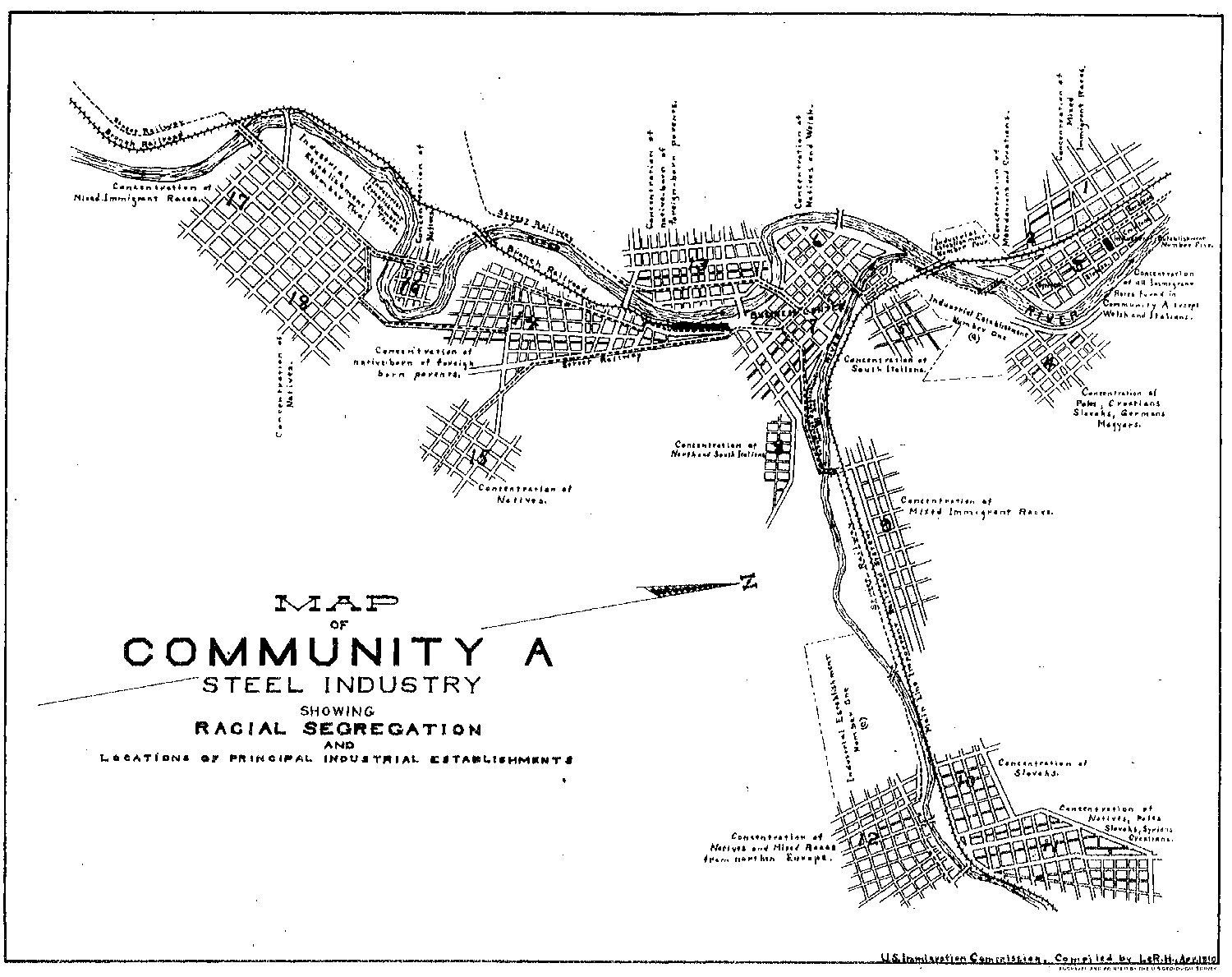 """Johnstown, Pennsylvania, was """"Community A"""" in a massive series of reports about immigration in early 20th-century America."""