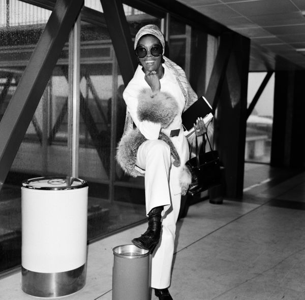 Warwick at Heathrow Airport in 1970.
