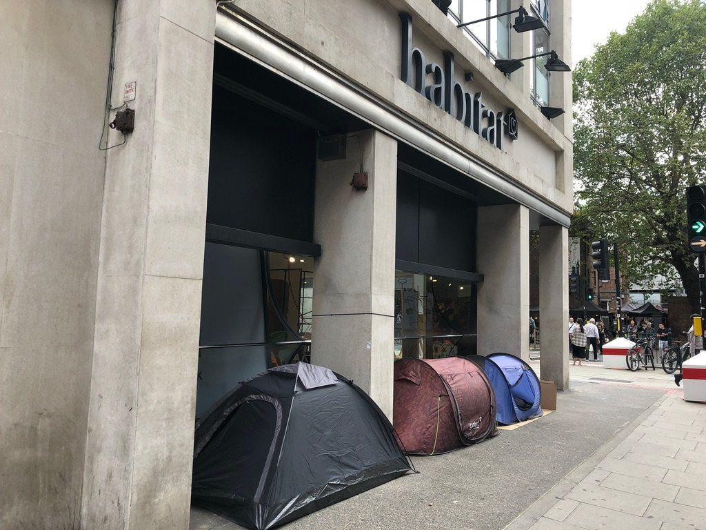 The Story Of Three Men In Tents Outside Habitat Paints A Damning Portrait Of Housing In The Age Of Austerity