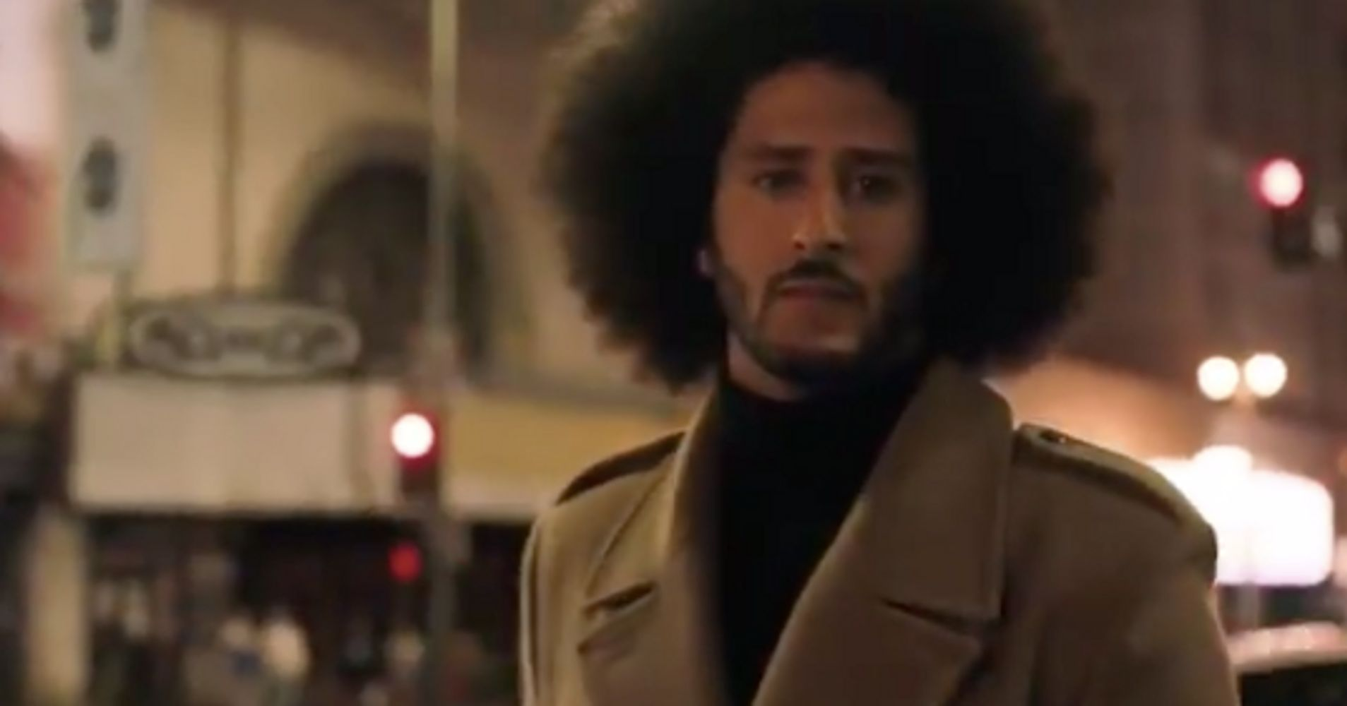 Colin Kaepernick Unveils An Emotional New Nike Ad Amid Controversy
