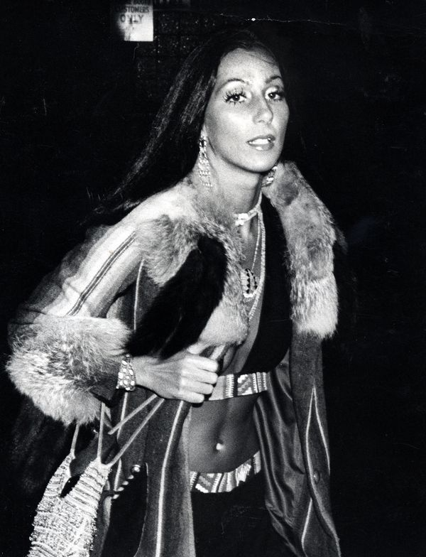 A photo of Cher from 1974.