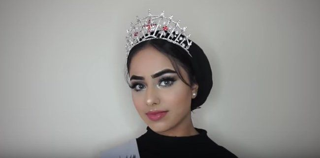 Sara Iftekhar is a 20-year-old from Huddersfield who competed in the Miss England finals.