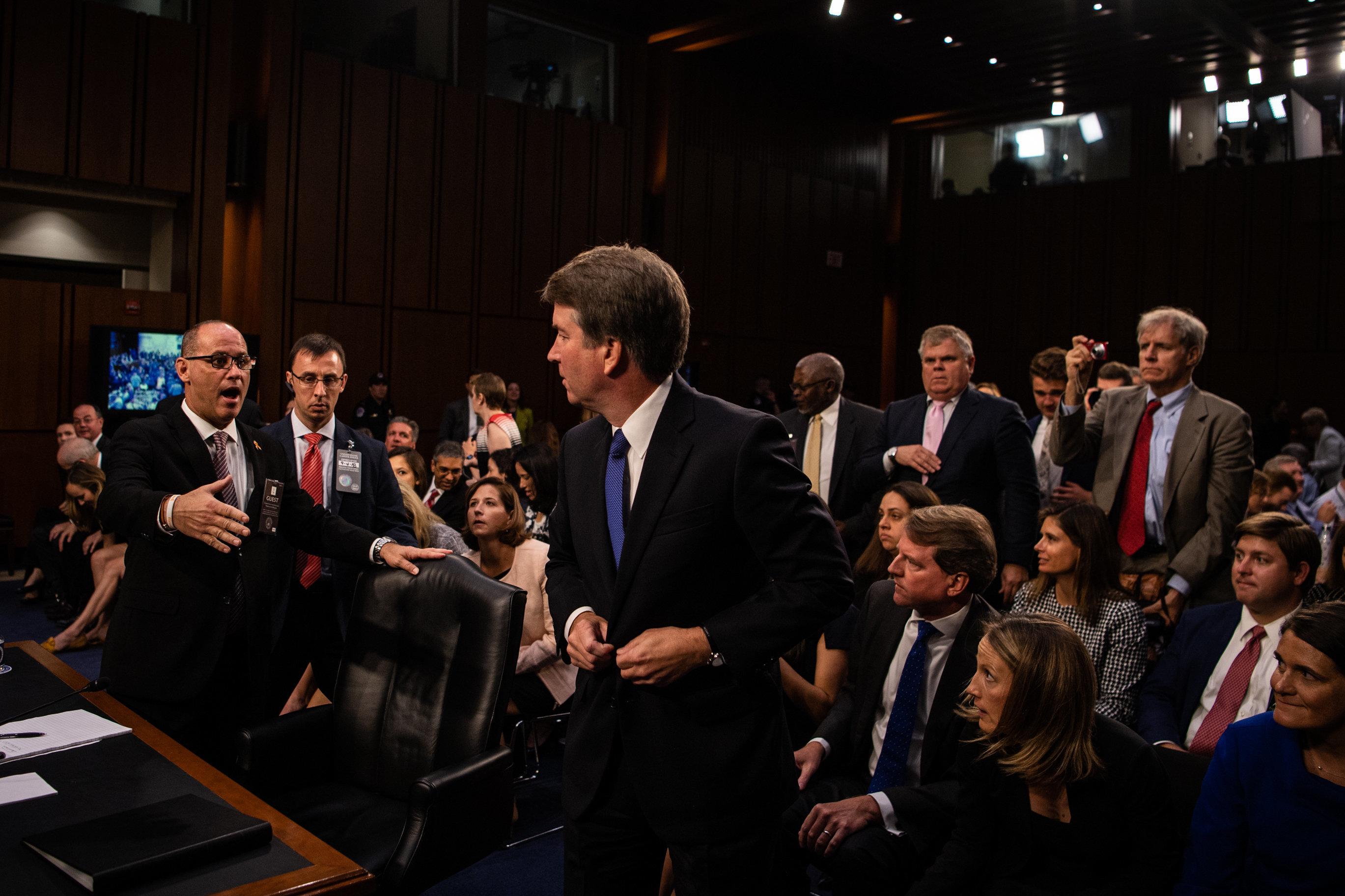 Cette photo du candidat de Trump à la Cour suprême a fait