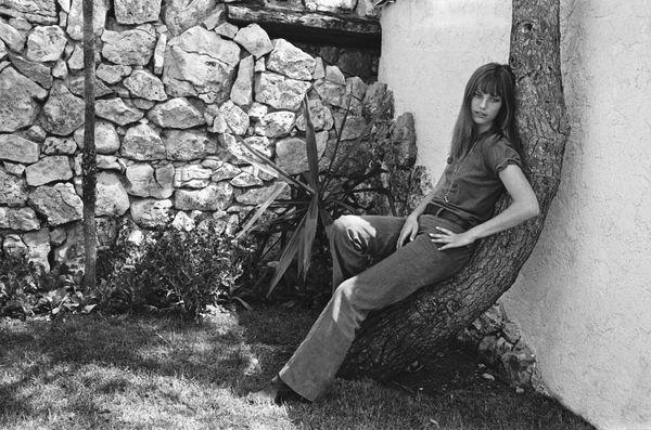 A portrait of Birkin in 1970.
