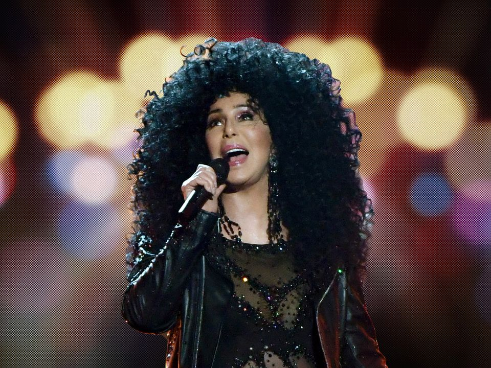 Cher, the year's dancing