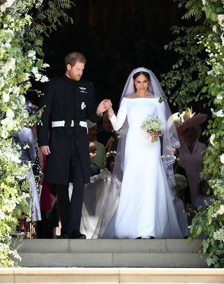 c46926420e8 15 Of The Most Stunning Royal Wedding Dresses Of All Time   HuffPost ...