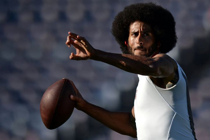 Colin Kaepernick in 2016.