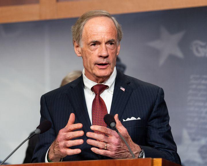 Sen. Tom Carper (D-Del.), a senator since 2001, previously served as Delaware's governor and congressman. He has a more centr