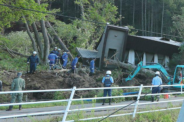 일본 홋카이도에서 규모 6.7 강진이