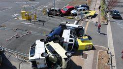 일본 오사카의 태풍은 어떻게 11명의 목숨을