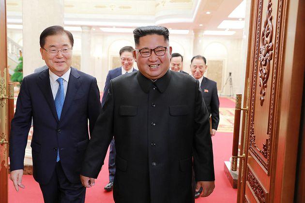 대북특사단을 만난 김정은 위원장의 발언들이