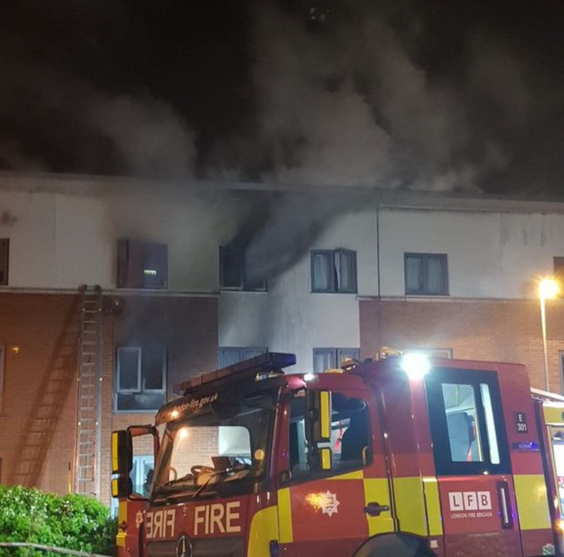 Woman Found Dead After 60 Firefighters Battle Arson At Woolwich