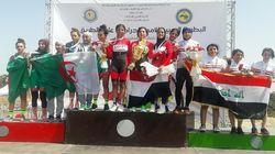 Championnat arabe de cyclisme: deux médailles d'argent pour l'Algérie lors de la 1e