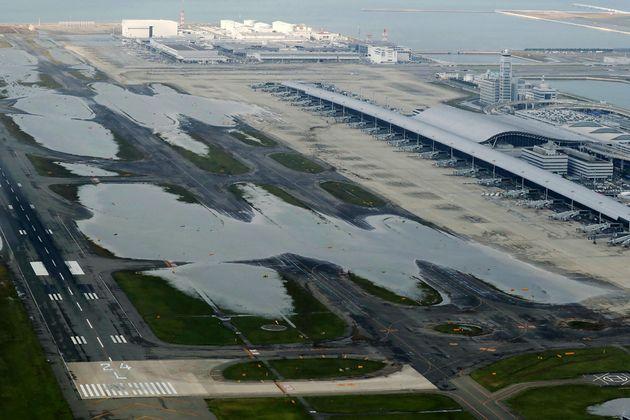 간사이국제공항이 6일부터 국내선 운항을
