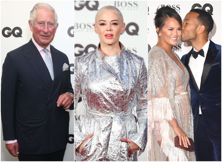 All The Red Carpet Pics You Need To See From This Year's GQ Men Of The Year