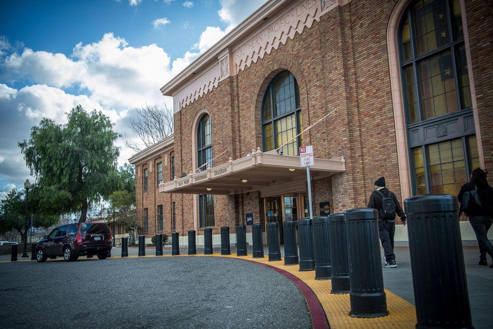 Google parent Alphabet is negotiating to buy a plot of land next to San Jose's Diridon train station.