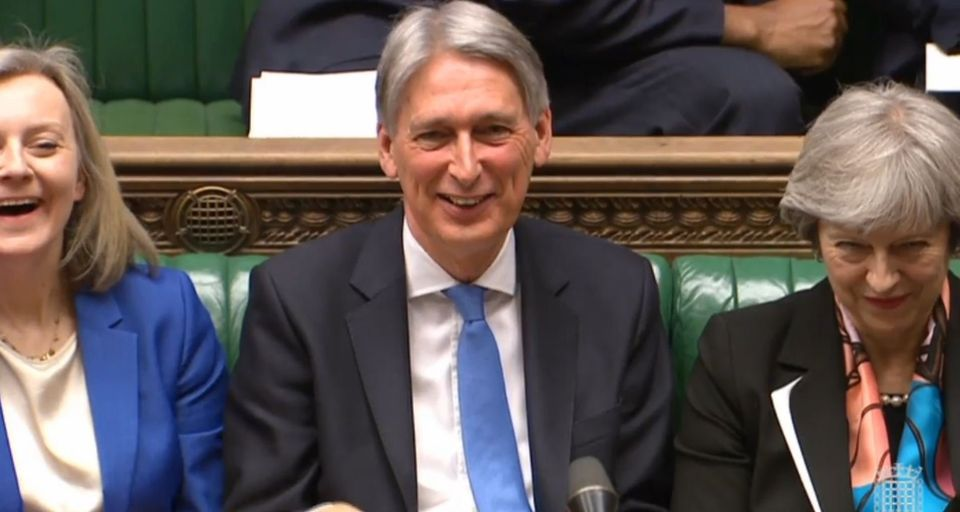 Chancellor Philip Hammond warned of a £80bn no deal black