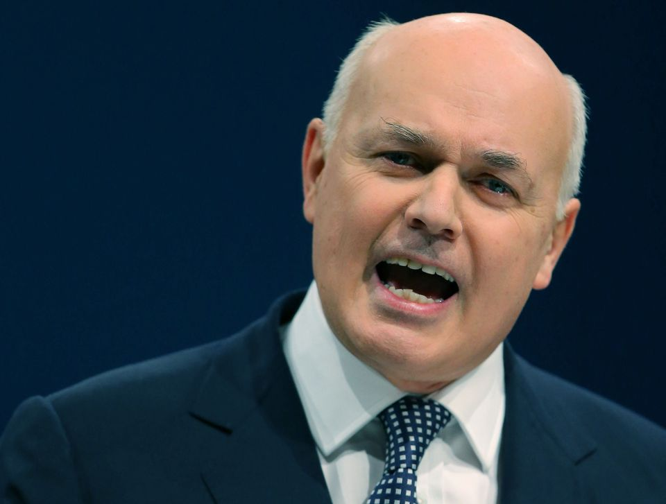Iain Duncan Smith wants to ditch carbon taxes post