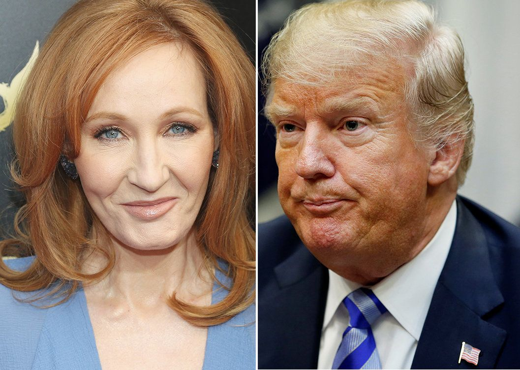 J.K. Rowling Reveals The Trump-Themed Item That Would Summon