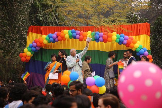 A file photo of the Delhi Queer Pride