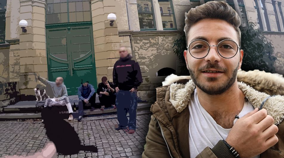 Flüchtling zeigt mit versteckter Kamera seinen Blick auf Chemnitzer