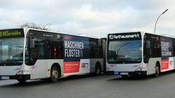 Hamburg: Stadtbus mit arabischen Schriftzeichen entdeckt – das steckt