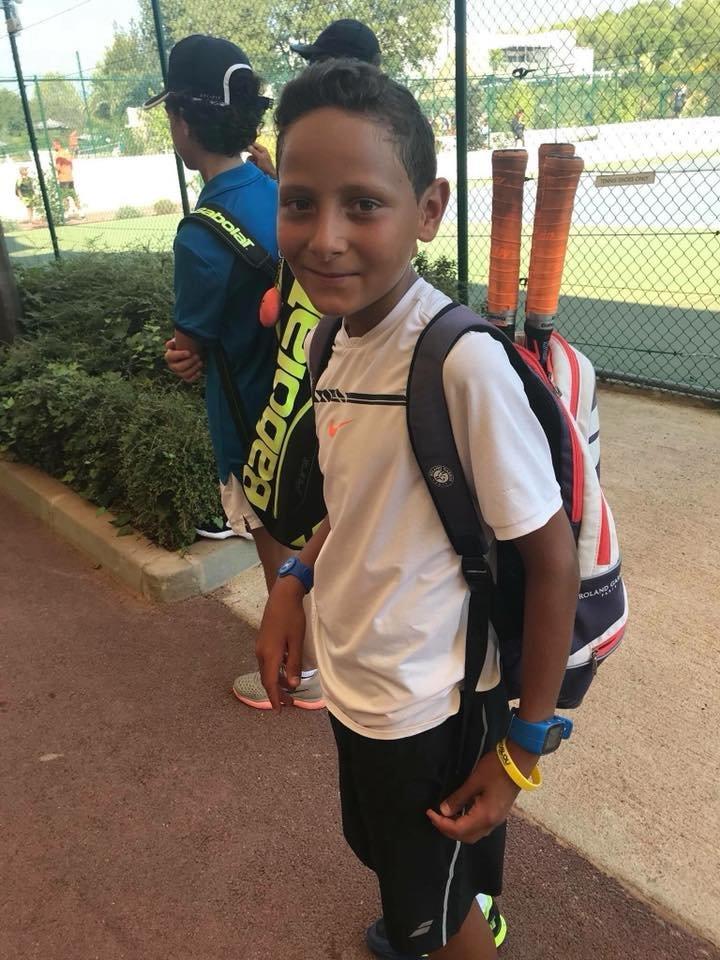 Alaa, jeune tennisman tunisien de 11 ans intègre la prestigieuse Mouratoglou Tennis Academy grâce au soutien de la Fondation