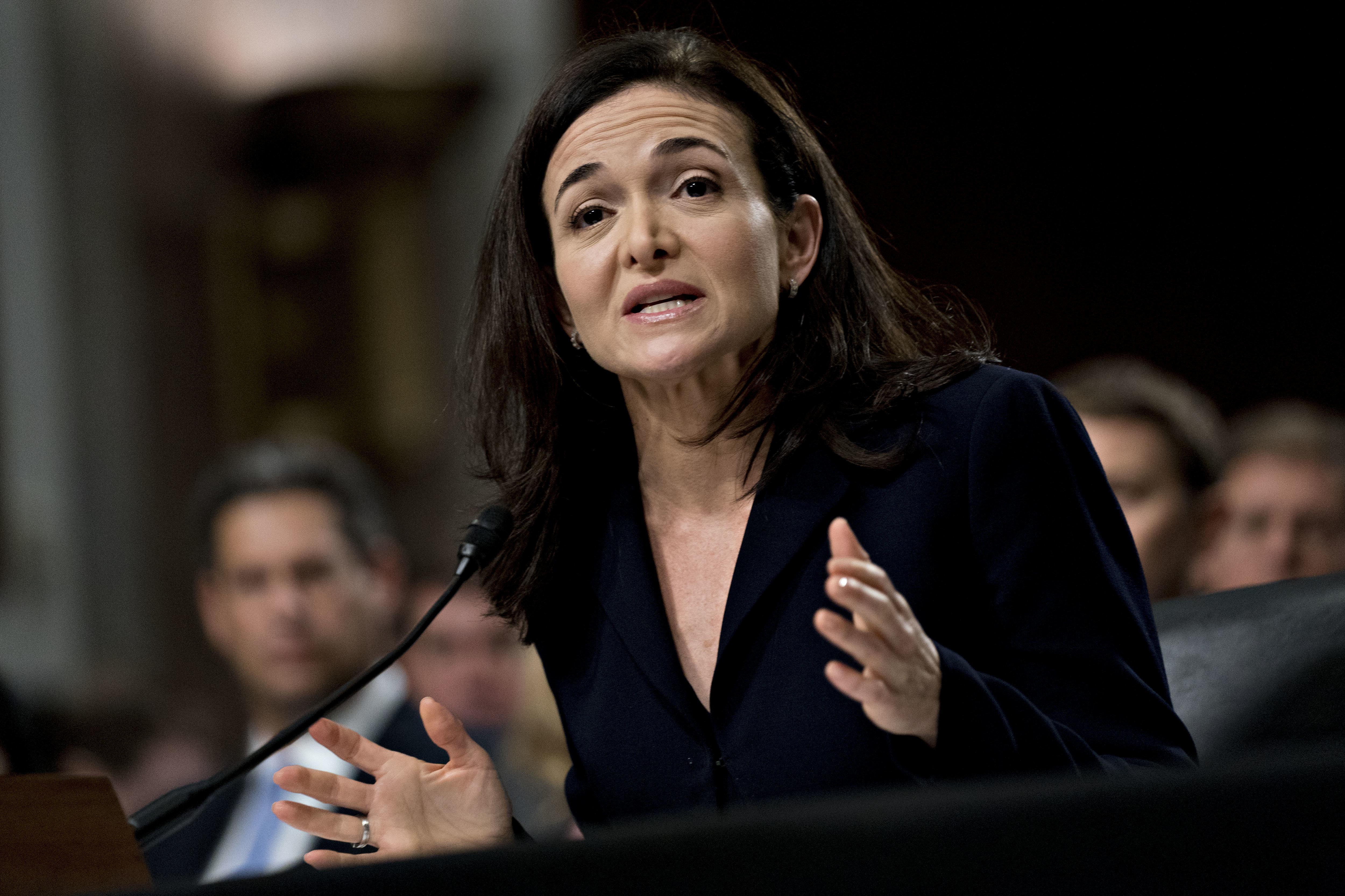 Sheryl Sandberg Faces The Classic Double Standard At Senate