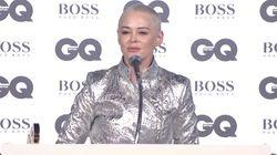 Rose McGowan Accepts GQ Inspiration